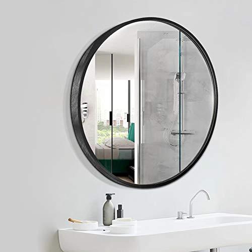 Beauty4u 20 Wall Circle Mirror Large Round Black Farmhouse Circular Mirror For Wall Decor Big Bathroom Make Up Vanity Mirror Entryway Mirror Farmhouse Goals
