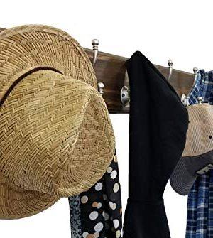 Brookside Wall Mounted Coat Hooks Towel Hooks Clothing Hooks Garment Hooks Customizable Number Of Hatboro Double Hooks Available In 20 Colors Dark Walnut 0 1 300x335