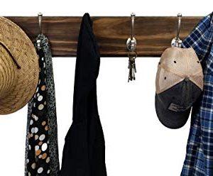 Brookside Wall Mounted Coat Hooks Towel Hooks Clothing Hooks Garment Hooks Customizable Number Of Hatboro Double Hooks Available In 20 Colors Dark Walnut 0 2 300x248