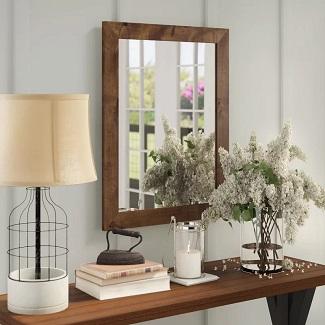 Brown Samara Cottage Bathroom Mirror