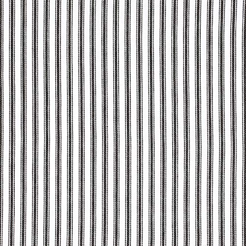 Cackleberry Home Black And White Ticking Stripe Kitchen Towels 18 X 28 Inches 100 Cotton Woven Set Of 3 0 1
