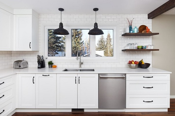 Classic Bistro Industrial by Legacy Kitchens