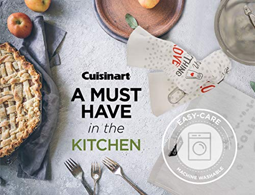 Cuisinart 100 Cotton Printed Kitchen Hand Towels 2pk Soft And Absorbent Decorative Kitchen Towels Perfect For Drying Dishes And Hands Machine Washable Kitchen Towel Set 16 X 28 Season Everything 0 2