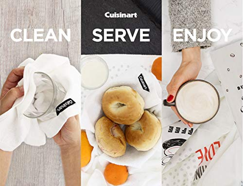 Cuisinart 100 Cotton Printed Kitchen Hand Towels 2pk Soft And Absorbent Decorative Kitchen Towels Perfect For Drying Dishes And Hands Machine Washable Kitchen Towel Set 16 X 28 Season Everything 0 4