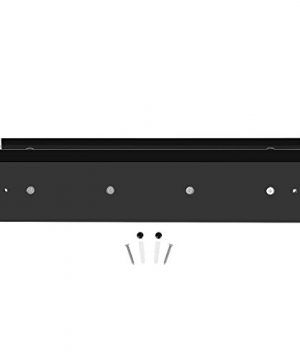 DOKEHOM 4 Satin Nickel Hooks 4 Colors On Wooden Board With Shelf Coat Rack Hanger Mail Box Packing Black 0 4 300x360