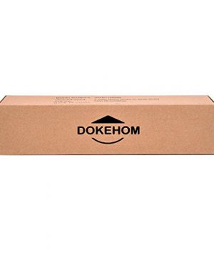 DOKEHOM 4 Satin Nickel Hooks 4 Colors On Wooden Board With Shelf Coat Rack Hanger Mail Box Packing Black 0 5 300x360