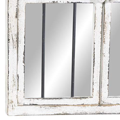 Deco 79 Wood Window Mirror 42 By 25 0 1