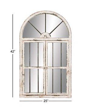 Deco 79 Wood Window Mirror 42 By 25 0 4 300x360