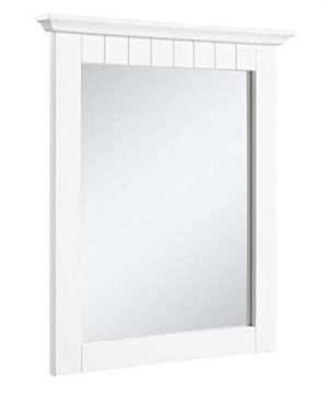 Design House 541581 Cottage Ready To Assemble 21x24 Inch Mirror White 0 300x360