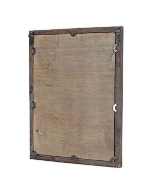 Farmhouse Decor Mirror With Frame Rustic Mirror With Wooden Frame And Shutter Design Product SKU SZ 7888 0 4 300x360