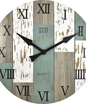 FirsTime Co Timberworks Wall Clock 27 Multicolor 0 0 300x360