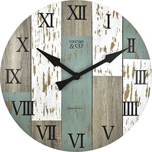 FirsTime Co Timberworks Wall Clock 27 Multicolor 0 0