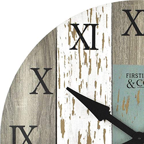 FirsTime Co Timberworks Wall Clock 27 Multicolor 0 1
