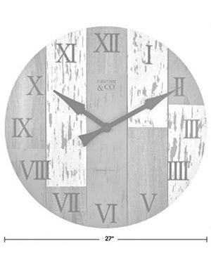 FirsTime Co Timberworks Wall Clock 27 Multicolor 0 2 300x360