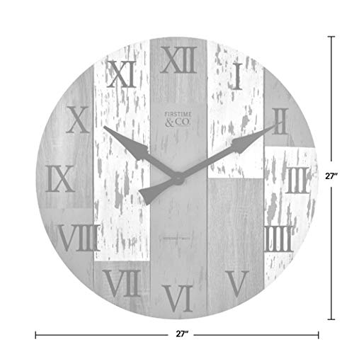 FirsTime Co Timberworks Wall Clock 27 Multicolor 0 2