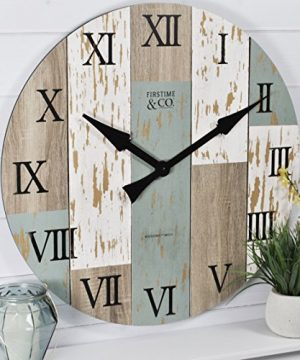 FirsTime Co Timberworks Wall Clock 27 Multicolor 0 300x360