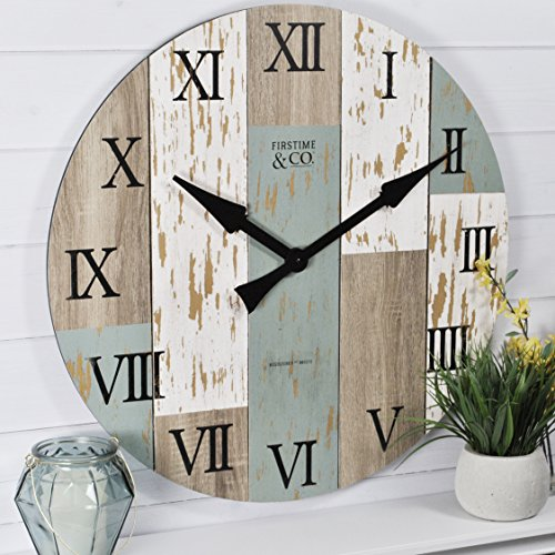 FirsTime Co Timberworks Wall Clock 27 Multicolor 0