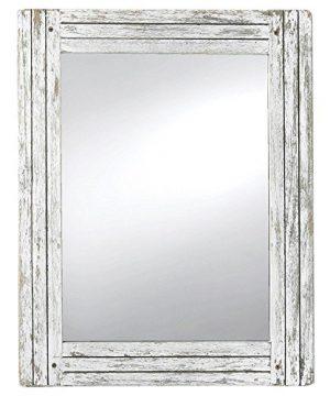 Foreside Home Garden FMIR06225 Heartland Mirror White 0 300x360