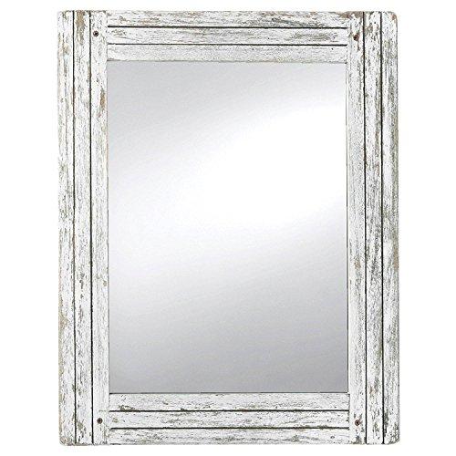 Foreside Home Garden FMIR06225 Heartland Mirror White 0