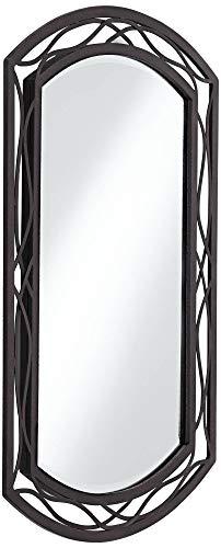 Franklin Iron Works Woven Bronze 24 X 35 12 Metal Wall Mirror 0 2