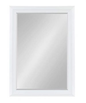 Kate And Laurel Whitley Framed Wall Mirror 295x415 White 0 300x360