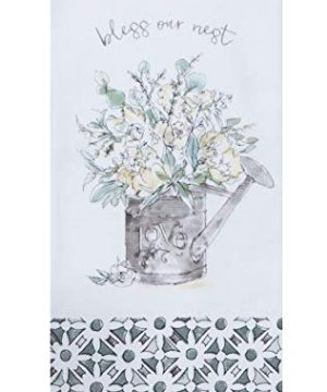 Kay Dee Designs Bless Our Nest Floral Farmhouse Kitchen Towels Bundle Of 2 0 0 300x360
