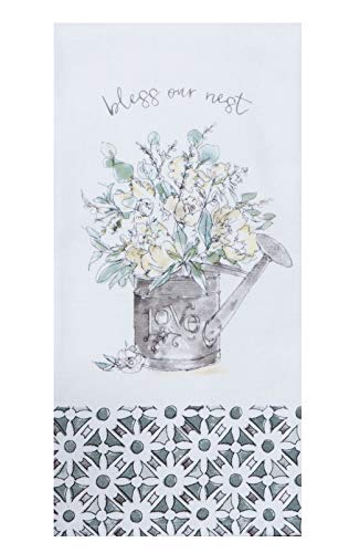 Kay Dee Designs Bless Our Nest Floral Farmhouse Kitchen Towels Bundle Of 2 0 0