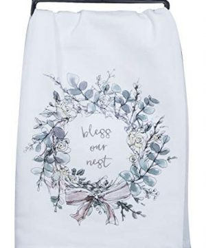 Kay Dee Designs Bless Our Nest Floral Farmhouse Kitchen Towels Bundle Of 2 0 1 300x360