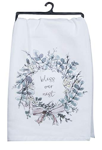 Kay Dee Designs Bless Our Nest Floral Farmhouse Kitchen Towels Bundle Of 2 0 1