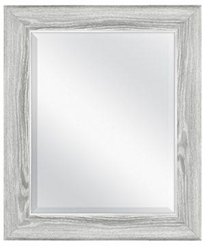 MCS Mirror 215 X 255 Inch Gray Woodgrain 0 300x360