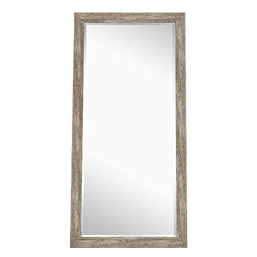 Naomi Home Rustic Floor Mirror Natural66 X 32 0 0