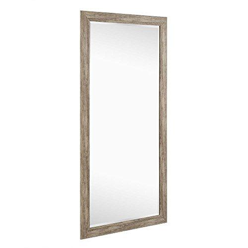 Naomi Home Rustic Floor Mirror Natural66 X 32 0 3
