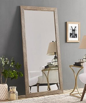 Naomi Home Rustic Floor Mirror Natural66 X 32 0 300x360