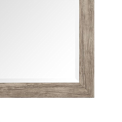 Naomi Home Rustic Floor Mirror Natural66 X 32 0 4