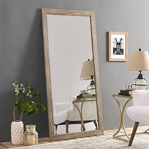 Naomi Home Rustic Floor Mirror Natural66 X 32 0