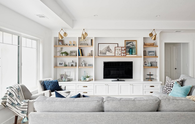 Navy is a Neutral Ranch Remodel & Addition by KBG Design