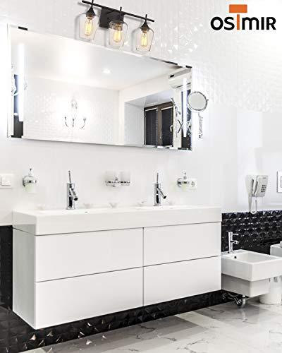 Osimir Bathroom Light Fixtures 21 Inch Farmhouse Bathroom Vanity Lights Over Mirror Dark Bronze Bath Wall Light Farmhouse Goals