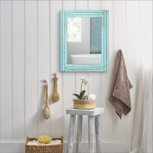 PRINZ Waters Edge Homestead Mirror Blue Distressed Wood 185x235 0 2