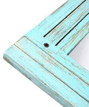 PRINZ Waters Edge Homestead Mirror Blue Distressed Wood 185x235 0 3 300x360