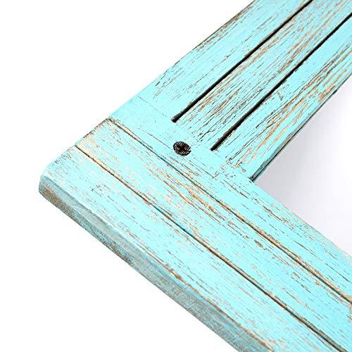 PRINZ Waters Edge Homestead Mirror Blue Distressed Wood 185x235 0 3