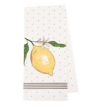Pantry Lemon Kitchen Dish Towel Set Of 4 100 Percent Cotton 18 X 28 Inch 0 0 300x360
