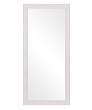 Patton Wall Decor 24 X 58 Beveled Leaner Classic White Washed Wood Frame Floor Mirror 0 300x360