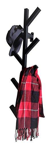 PremiumRacks Coat Rack Hat Rack Modern Design Wall Mounted Stylish Durable 0 0