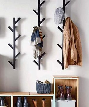 PremiumRacks Coat Rack Hat Rack Modern Design Wall Mounted Stylish Durable 0 300x360