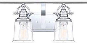 Quoizel GRT8604C Grant Vanity Bath Lighting 4 Light 400 Watts Polished Chrome 10H X 32W 0 300x151