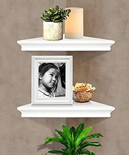 SHELVING SOLUTION Corner Wall Shelf White 0