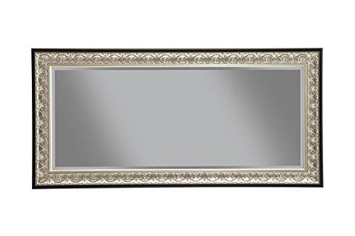 Sandberg Furniture Wall Monaco Full Length Leaner Mirror Antique SilverBlack 0 0