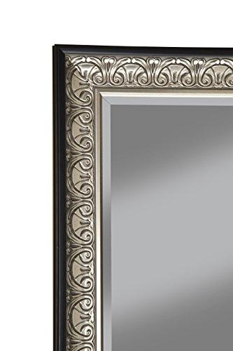 Sandberg Furniture Wall Monaco Full Length Leaner Mirror Antique SilverBlack 0 3