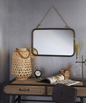 Silverwood Wall Mirror Black 0 0 300x360