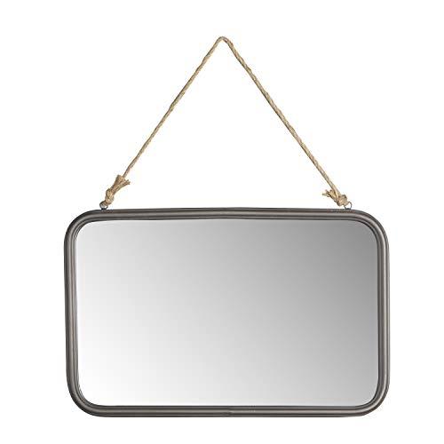 Silverwood Wall Mirror Black 0